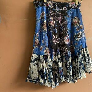 Zara Skirts - Zara Patchwork mini skirt XS